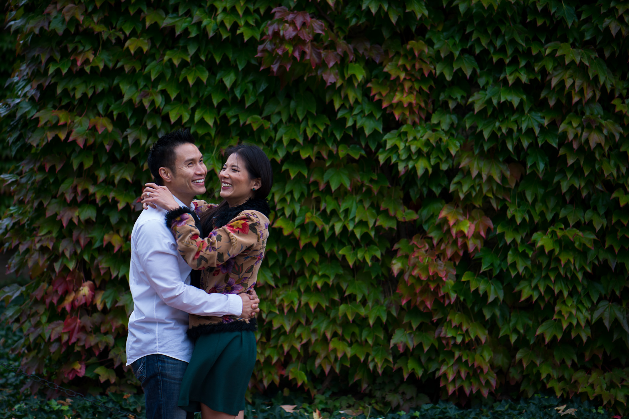 George Eastman Museum Engagement Session