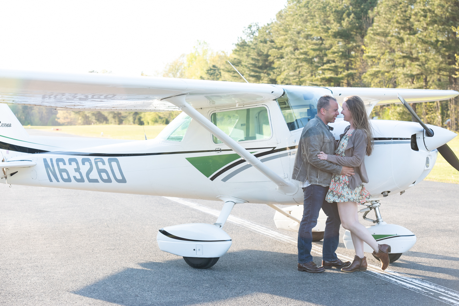 Seahorse Beach & CRE Airport Engagement Session
