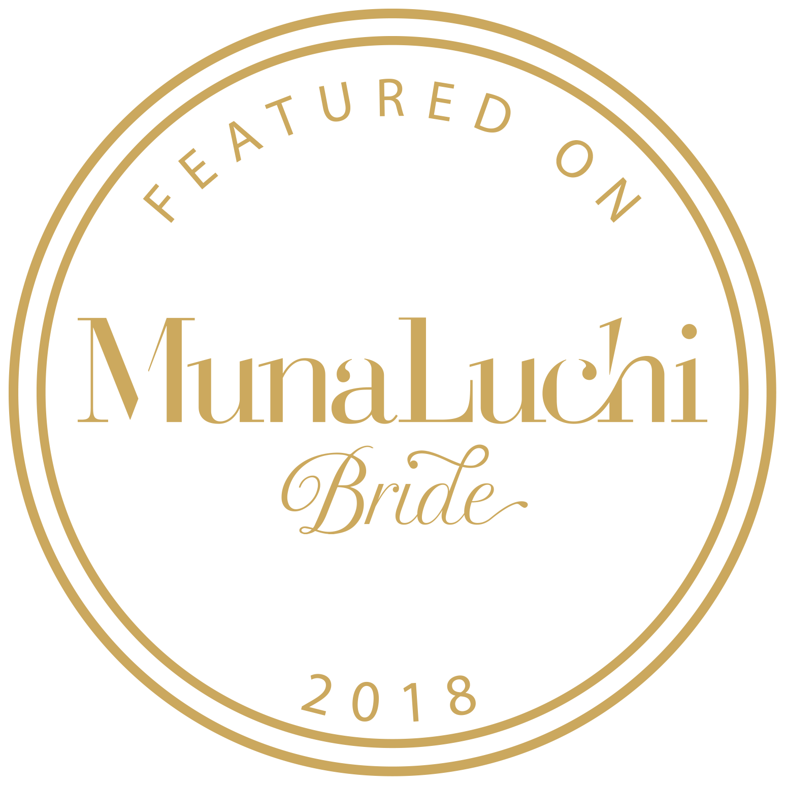 Featured badge from MunaLuchi Bride