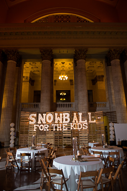 27th annual Snowball for the kids - fundraiser at Union Station, Chicago