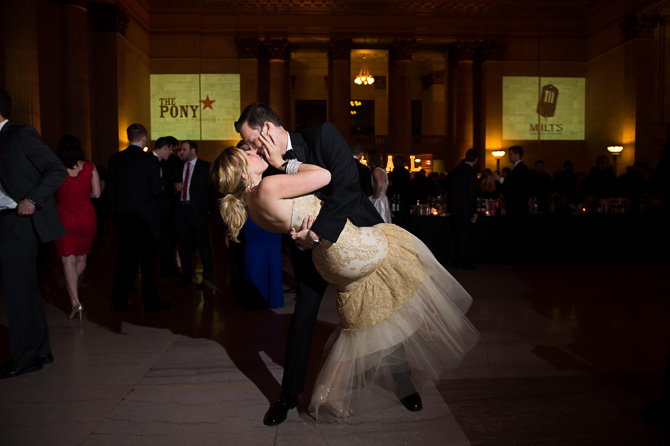 Another gorgeous couple at the event. Union Station, Chicago, IL.