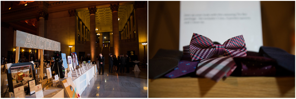 Detail shots of items auctioned at Chicago's 2015 Snowball event.