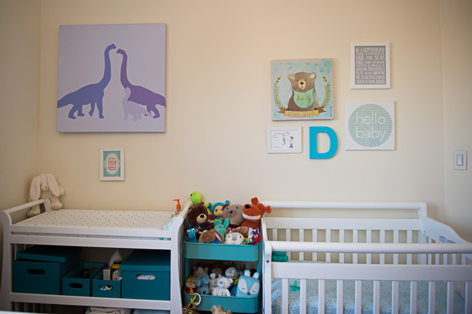 Beautiful and crafty room for a newborn.