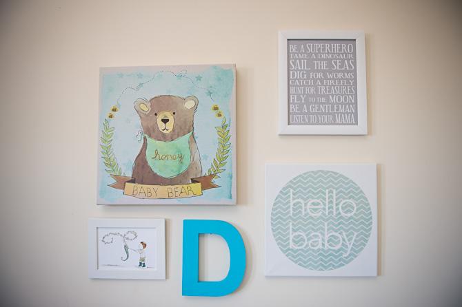Hello Baby wall.